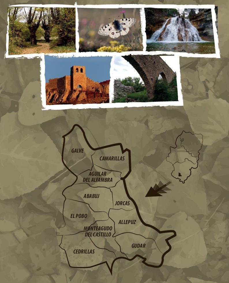 Teruel, Parque Cultural Chopo Cabecero Alto Alfambra