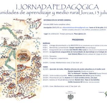 I JORNADA PEDAGÓGICA