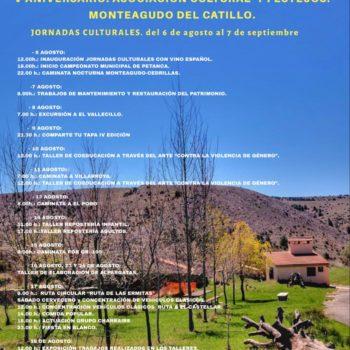 JORNADAS CULTURALES DE MONTEAGUDO DEL CASTILLO 2019