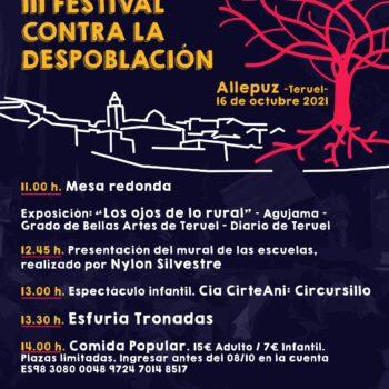 III FESTIVAL CONTRA LA DESPOBLACIÓN